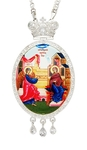 Jewelry Bishop panagia (encolpion) - A312 silver-gilding)