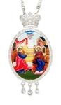 Jewelry Bishop panagia (encolpion) - A312 silver-gilding)