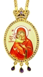 Jewelry Bishop panagia (encolpion) - A312 (gold-gilding)