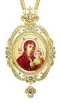Jewelry Bishop panagia (encolpion) - A324 (gold-gilding)