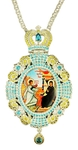 Jewelry Bishop panagia (encolpion) - A528 silver-gilding)