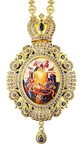 Jewelry Bishop panagia (encolpion) - A528 (gold-gilding)