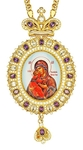 Jewelry Bishop panagia (encolpion) - A591 (gold-gilding)