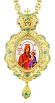 Jewelry Bishop panagia (encolpion) - A602 (gold-gilding)