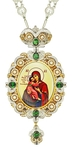 Jewelry Bishop panagia (encolpion) - A652 (gold-gilding)