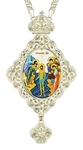 Jewelry Bishop panagia (encolpion) - A670 silver-gilding)