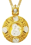 Jewelry Bishop panagia (encolpion) - A703 (gold-gilding)