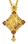 Jewelry Bishop panagia (encolpion) - A845 (gold-gilding)