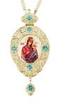 Jewelry Bishop panagia (encolpion) - A874 (silver-gilding)