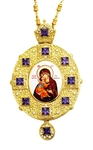 Jewelry Bishop panagia (encolpion) - A955 (gold-gilding)
