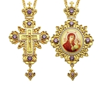 Jewelry Bishop panagia-cross set - A22