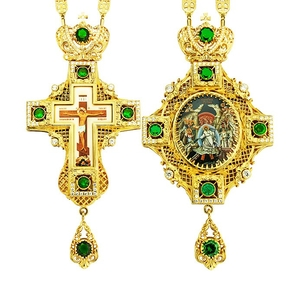 Jewelry Bishop panagia-cross set - A20