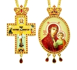 Jewelry Bishop panagia-cross set - A18