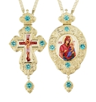 Jewelry Bishop panagia-cross set - A33