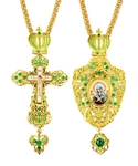 Jewelry Bishop panagia-cross set - A31