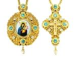 Jewelry Bishop panagia-cross set - A12