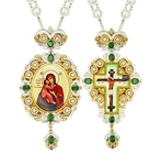 Jewelry Bishop panagia-cross set - A6