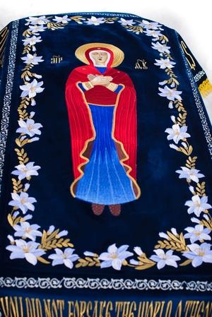 Shroud (plashanitsa) of Most Holy Theotokos