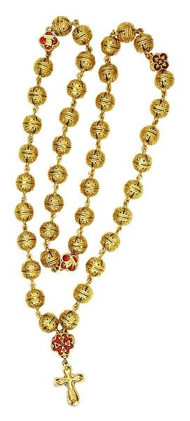 Brass prayer rope - A771 (40 knots)