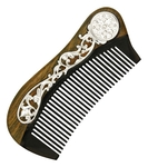 Jewelry horn clergy comb - A183