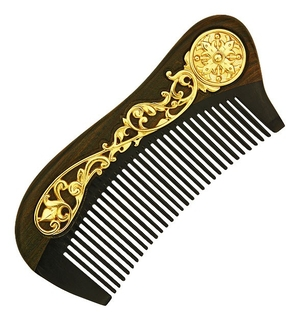 Jewelry horn clergy comb - A183a