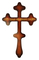 Holy table blessing cross - A605 (back side)