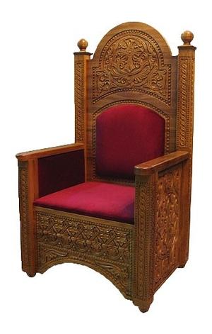 Church furniture: Bishop throne no.6-2