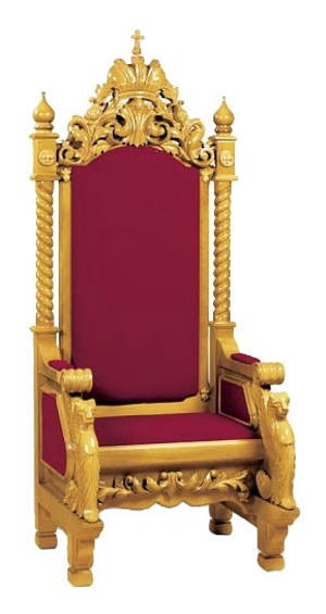 Church furniture: Bishop throne no.3-2
