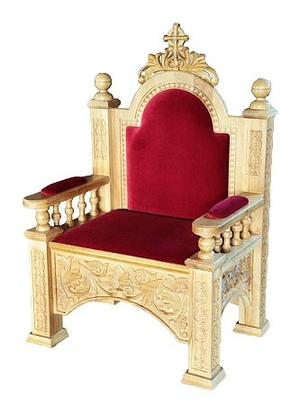 Church furniture: Bishop throne no.20