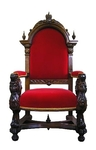 Church furniture: Bishop throne no.16