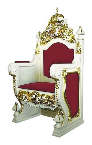 Church furniture: Bishop throne no.15