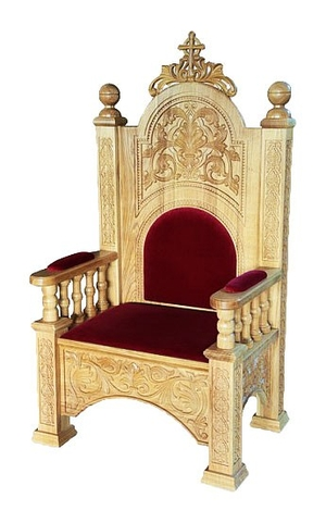 Church furniture: Bishop throne no.19