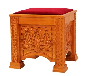Church furniture: Clergy seat no.375