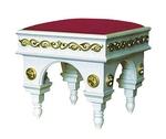Church furniture: Clergy seat no.1-1