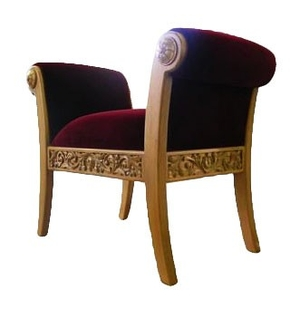 Church furniture: Clergy seat no.7-1