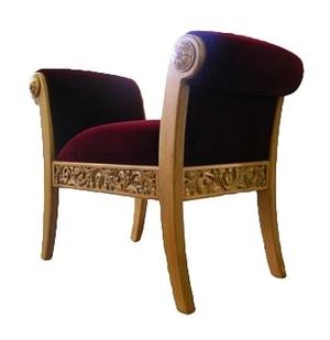 Church furniture: Clergy seat no.7-1