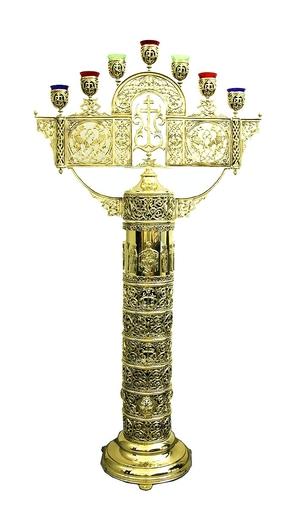 Seven-branch candelabrum - 705