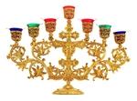 Seven-branch candelabrum - 753