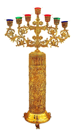 Seven-branch candelabrum - 752