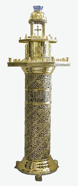 Floor church candle-stand - 710 (16 candles)