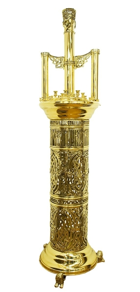 Floor church candle-stand - 711 (16 candles)