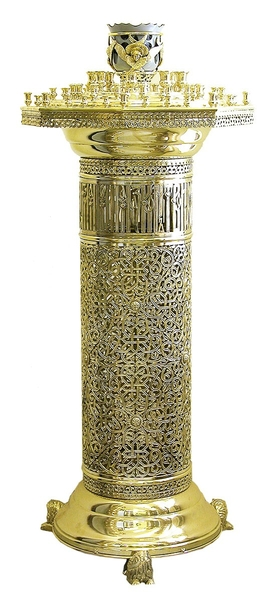 Floor church candle-stand - 714 (16 candles)