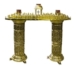 Floor church candle-stand - 731
