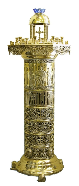 Floor church candle-stand - 739