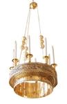 Greek Orthodox horos - 130 (8 lights)