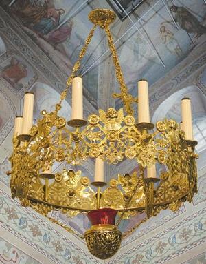 Greek Orthodox horos - 120-1 (9 lights)