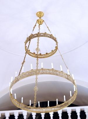 Greek Orthodox horos Birds - 110-3 (36 lights)