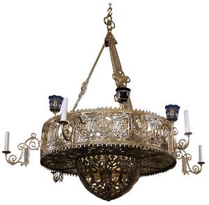 Greek Orthodox horos Birds - 106-1 (12 lights)