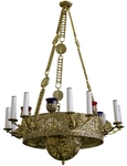 Greek Orthodox horos Birds - 104-4 (18 lights)