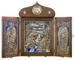 Jewelry icon-folder Annunciation of the Most Holy Theotokos